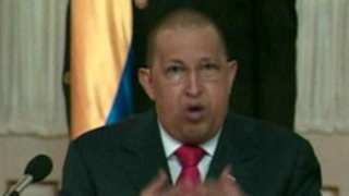 Presidente Hugo Chávez negó que su salud se haya agravado en los últimos días