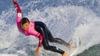 Sofía Mulanovich está en los primeros lugares de US Open of Surfing