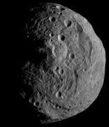 La NASA presenta nuevos datos sobre el asteroide Vesta