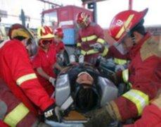 Turista belga fue trasladado al hospital de Arequipa tras caer por una pendiente en el Colca