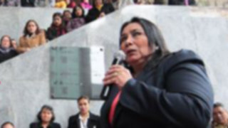 Ministra de la Mujer Aída García advirtió que se quiere desprestigiar el debate sobre la reforma constitucional
