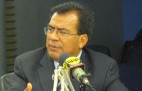 Velásquez Quesquén indicó que el APRA no se opone a fiscalizar al gobierno de Alan García