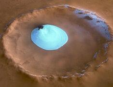 La Nasa anunció hallazgo de agua en Marte