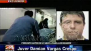 Imágenes exclusivas del presunto atacante de la hija del congresista Reggiardo