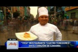 Los ex alumnos de Gastón Acurio conquistan el gusto gastronómico de Gamarra