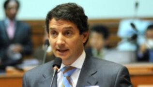 Renzo Reggiardo: Todos los poderes del Estado deben trabajar para disminuir la inseguridad ciudadana