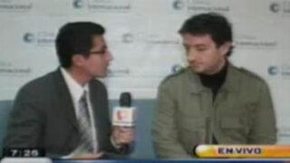 Congresista Renzo Reggiardo confirma que recibía llamadas extrañas desde hace semanas