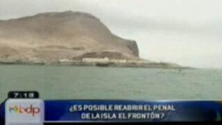 Informe especial sobre la viabilidad de reabrir la cárcel de El Frontón