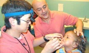 Niños con labio leporino serán operados de manera gratuita en el hospital San Bartolomé