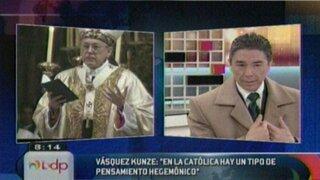 Analistas comentan enfrentamientos entre la PUCP y la Iglesia Católica