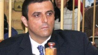 José Francisco Crousillat abandonó hoy nuevamente el penal para acudir al médico