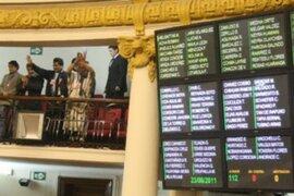Ley de Consulta Previa se aprobó por amplia mayoría