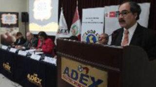 Adex: presentación del Gabinete en el Congreso generará confianza en inversionistas
