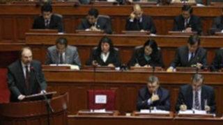 Gabinete Ministerial se presenta ante el pleno del Congreso