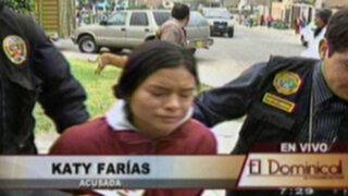 Dos mujeres encabezan banda dedicada al tráfico de menores en Lima