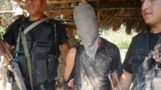 Autoridades detienen a ex militar que vendía armas a terroristas del Alto Huallaga