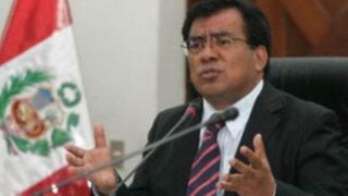 Javier Velásquez: Realizar pleno en Ica contradice proceso de descentralización