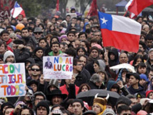 Gobierno Chileno llamó a dialogar a quienes protestan por las mejoras en la educación