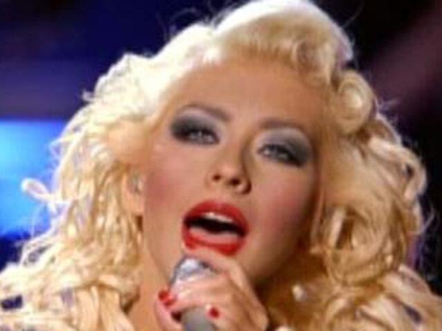 Cristina Aguilera será quien encabece el homenaje a Michael Jackson en el Reino Unido