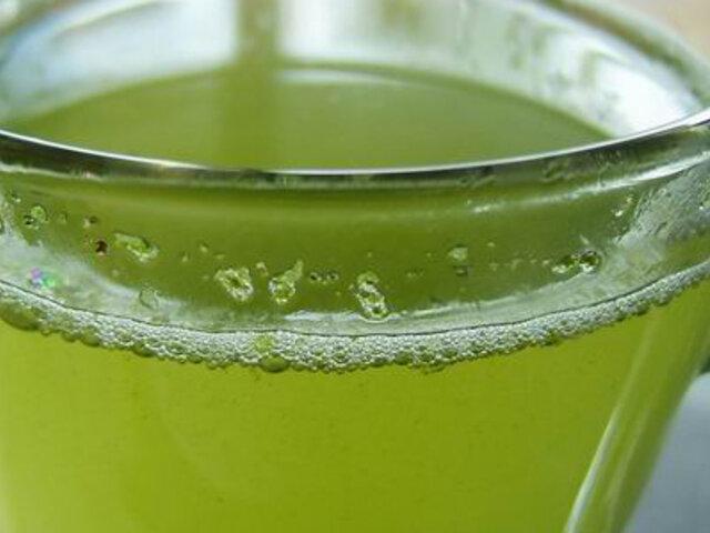Descubren compuesto en el té verde que combate tumores y enfermedades congénitas