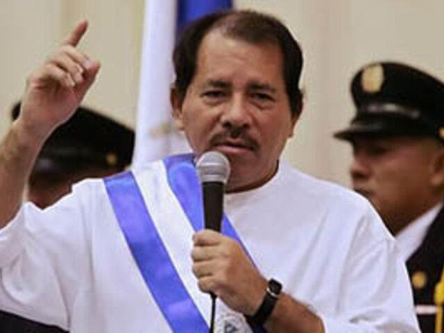 Presidente Daniel Ortega asume hoy su tercer mandato en Nicaragua