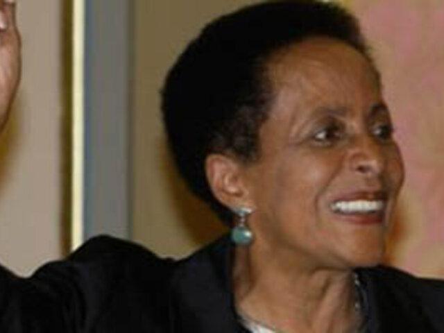 Susana Baca: Bajo presupuesto de mi sector me hace una ministra mendiga