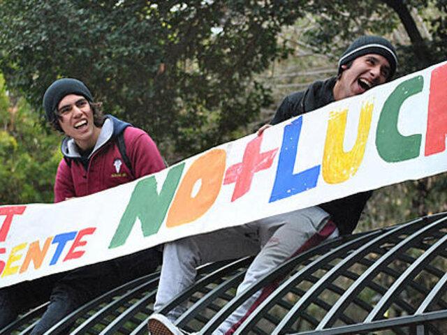 Continúan las marchas en Santiago de Chile solicitando reformas en la educación