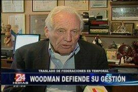Woodman pide creación de Paseo de los Héroes para deportistas destacados