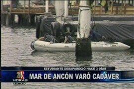 Cadáver de joven ahogado fue encontrado en las playas de Ancón