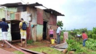 Fuertes vientos y relámpagos dejan decenas de damnificados en  Ucayali
