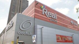 Policía capturó a delincuentes que intentaron asaltar el Centro Comercial Real Plaza