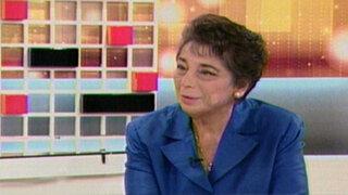 Beatriz Merino: Fondos previsionales podrían invertirse en infraestructura social