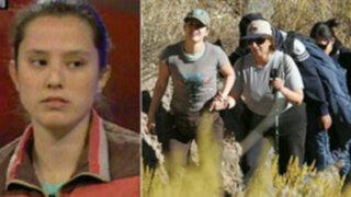 Rosario Ponce retornará al Colca para reconstrucción pero sin sus padres
