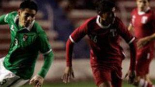 Perú empató sin goles con Bolivia en La Paz