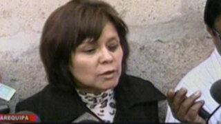 Fiscal Rosario Lozada: Rosario Ponce tendrá que regresar al Colca para nueva diligencia