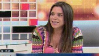 Vanesa Terkes dice que la actuación en el Perú se había vuelto muy amarillista