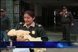 El padre de un bebe abandonado en San Martín de Porres se presentó ante el fiscal de familia