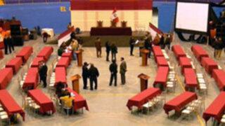 Congreso realiza esta mañana en Ica su primera sesión descentralizada