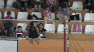 Campeonato de gimnasia rítmica en Piura