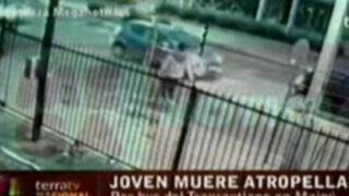 Cámara de seguridad grabó violento accidente en Chile