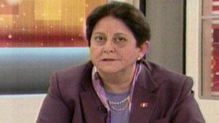 Lourdes Alcorta: Cuestiona declaraciones políticas del Embajador de Bolivia