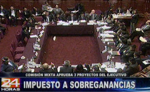 Comisión Mixta del Congreso aprobó proyectos enviados por el Ejecutivo