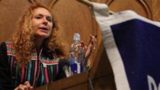 Eliane Karp criticó a Bill Gates por decir que Perú no necesita apoyo extranjero