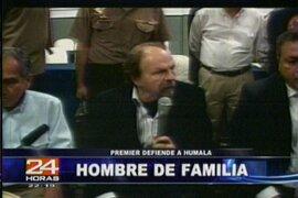 Premier Lerner: Ollanta Humala debió ratificar que no buscará la reelección