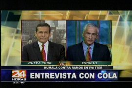Entrevista del presidente Ollanta Humala en Univisión fue criticada por los analistas