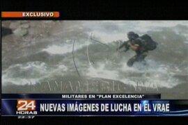 24 Horas continúa mostrando imágenes exclusivas de los combates en el VRAE