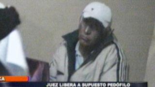 En Ica juez pone en libertad a supuesto pedofilo por falta de pruebas