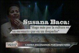 Susana Baca: Entre el ministerio de la Cultura y su amor por el canto