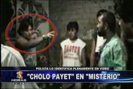 """Autoridades logran conocer identidad del barrista """"Cholo Payet"""""""