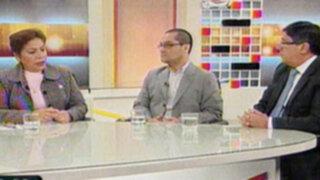 En intenso debate Beto Ortiz y presidente de Alianza analizan la violencia en el fútbol